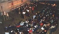 In December 2001 Ensemble XXI Moscow gave a benefit concert for The Russian Orphan Opportunirty Fund, 'ROOF'. The candle light concert created a magical atmosphere.