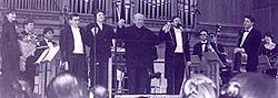 In September 2002 Ensemble XXI Moscow  opened the season of the Great Hall of the Moscow Conservatory under the batons of Gennadij Rozhdestvensky and Lygia O'Riordan.